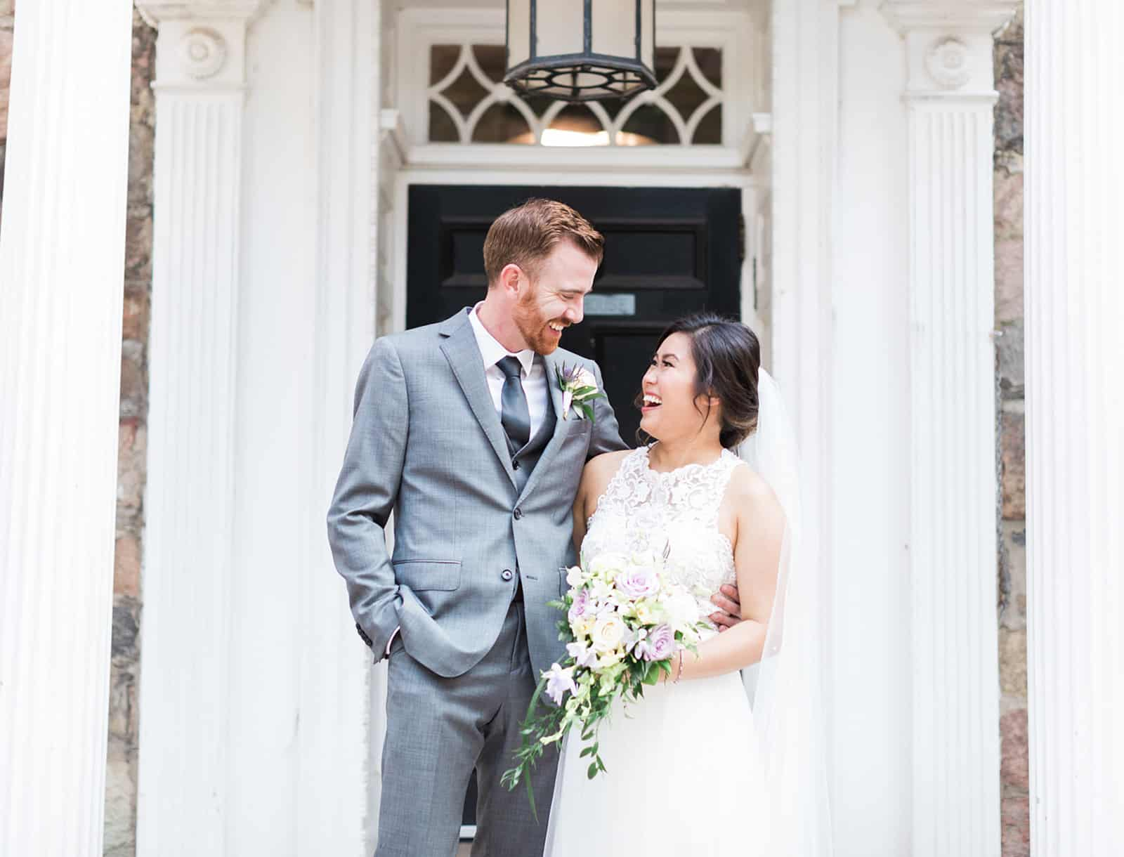 Sunnybrook McLean House Wedding: Julia + Colin