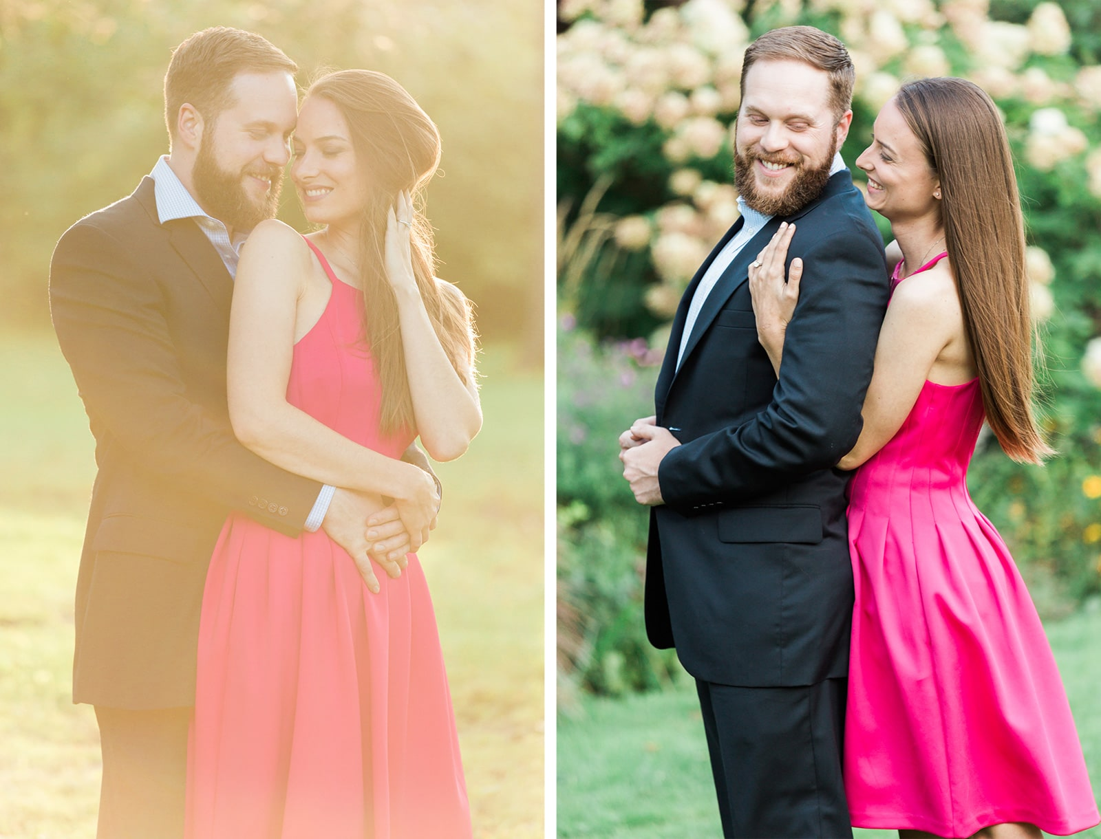 Romantic Engagement Session at Guildwood Park: Suzanna + Brian