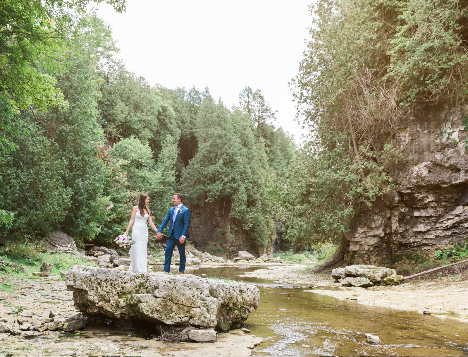 Beautiful Elora Mill Wedding: Kate + Kyle