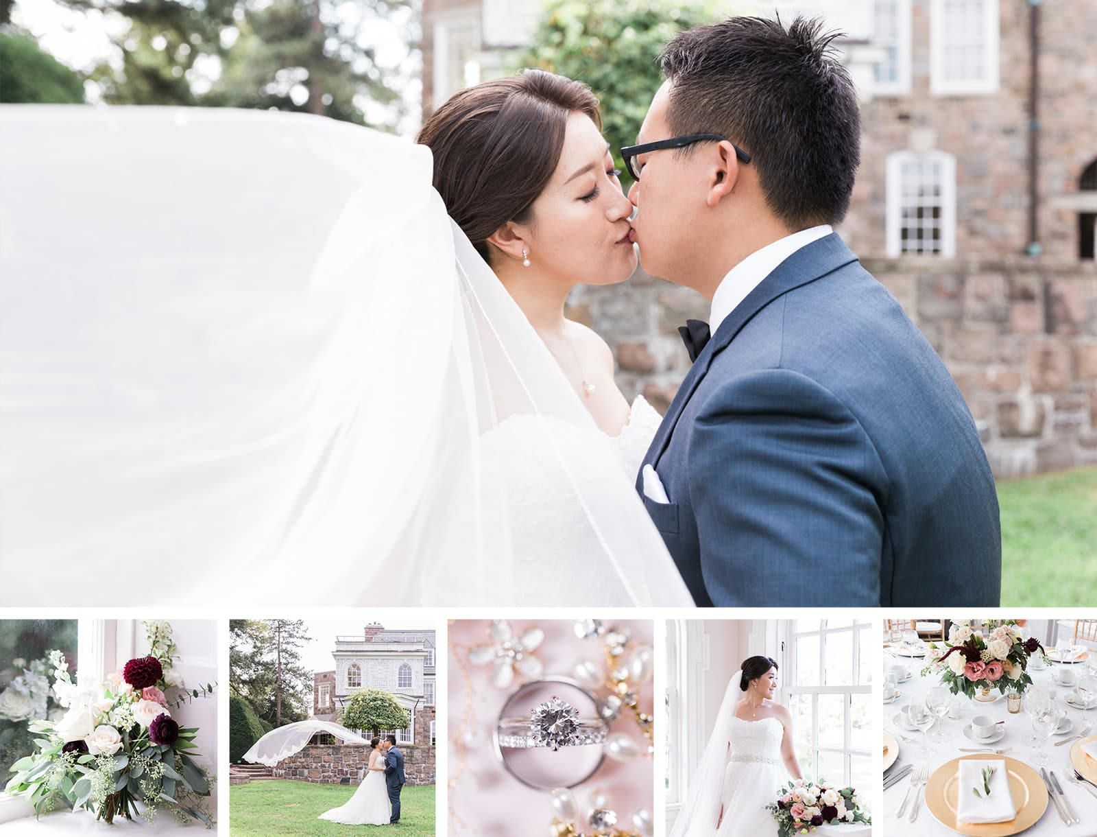Sunnybrook McLean House Chinese Wedding: Lucy + Parker