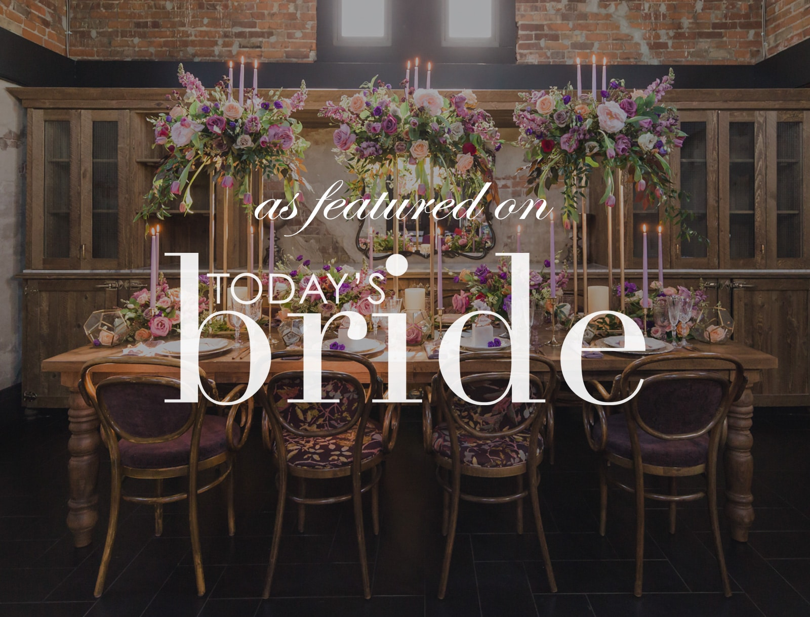 Featured on Today's Bride: Cosmic Styled Shoot