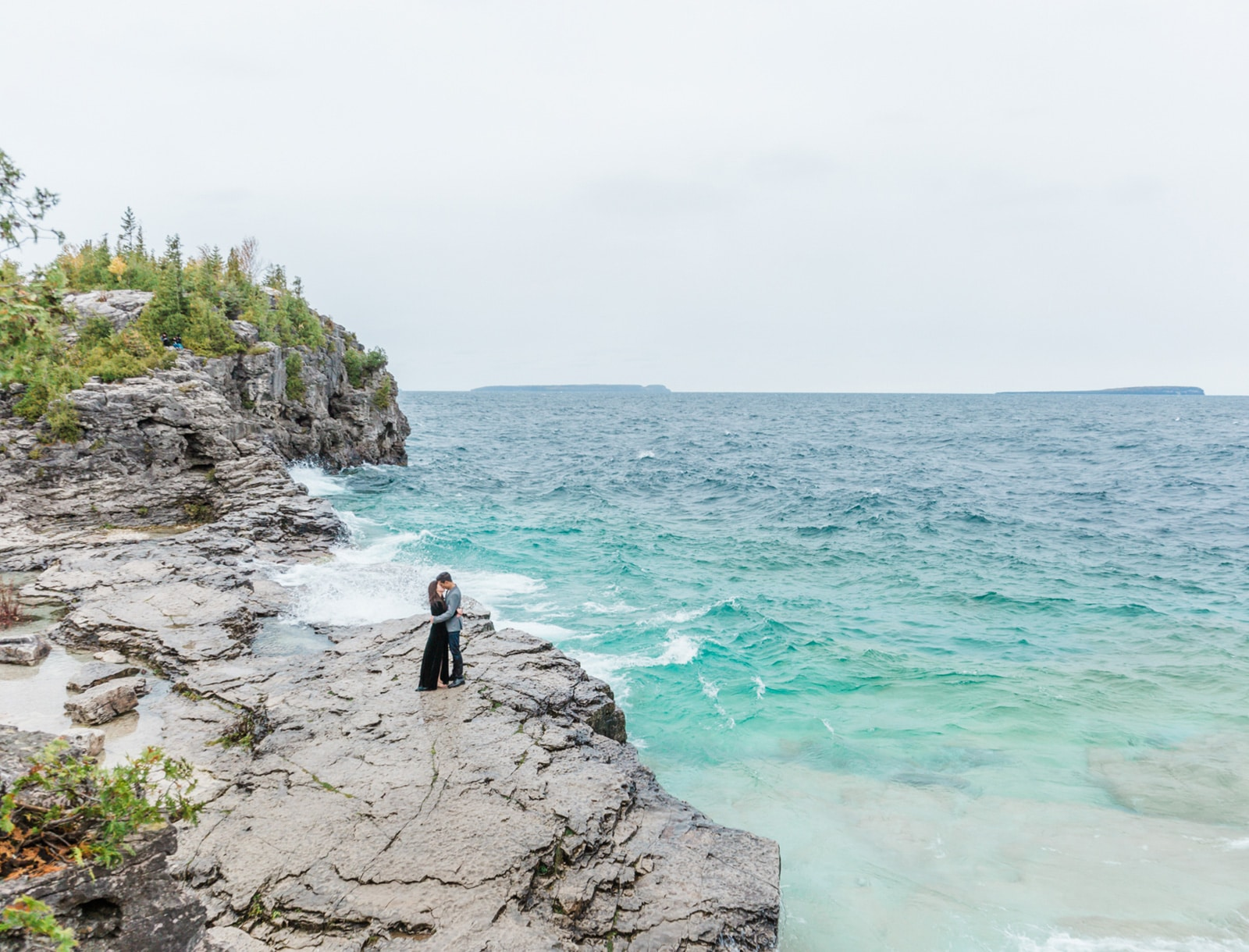 Romantic + Scenic Engagement in Tobermory: Aileen + Jordan