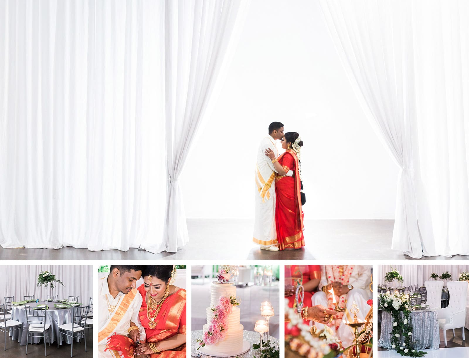 Traditional Hindu Wedding The Warehouse: Ramiya + Kumaran