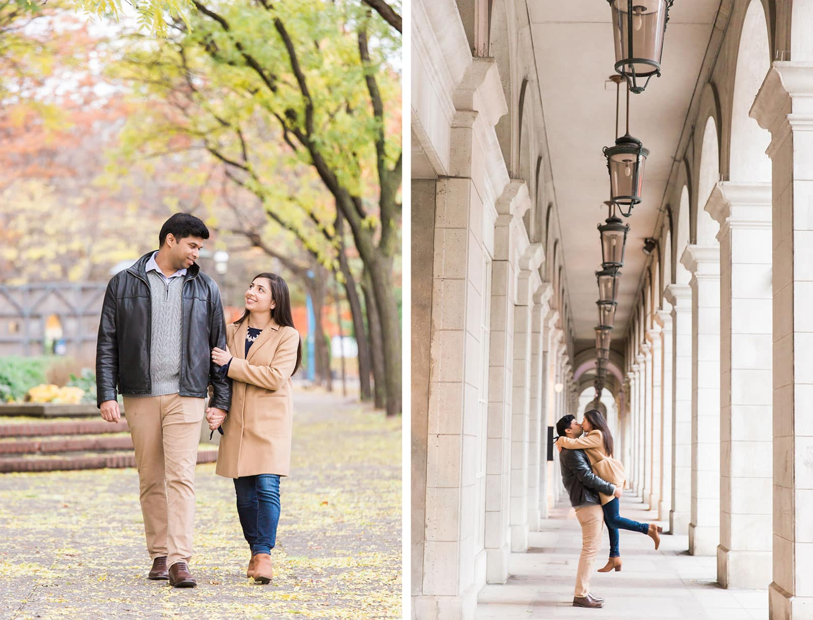 Toronto St Lawrence Market Engagement Photos: Tanya + Nikhil